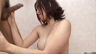 Busty Momoka Amai delights with cock in amazing scenes