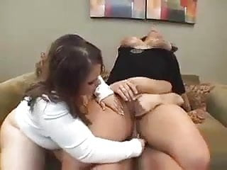 Two horny SSBBWs sharing a cock