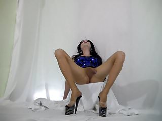 Preview 6 of Sissygasm - cumming in my pantyhose hands free