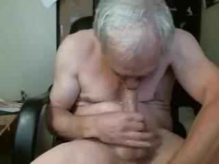sucking himself porn