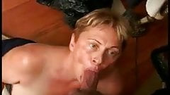 Old Granny Sucking Some Cock