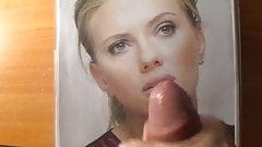 Scarlett Johansson makes me cum again
