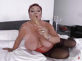 Download video bokep redhead bbw mature masturbating Mp4 terbaru
