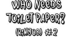 Who needs Toilet Paper? (Rimjob) #2