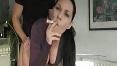 Hot slut from germany takes facial
