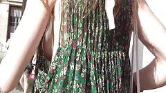 Parisian Girl sideboob summer