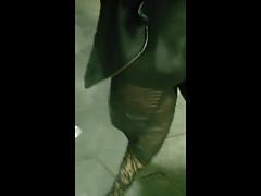flashing lingeri transparant dress