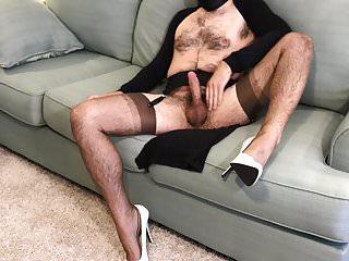 Nylon Layers & Cum Shot