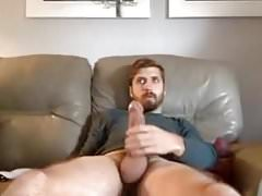 Nice Man Showing Off His Thick Cock