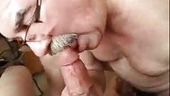 Grandpa blowjob series - 42