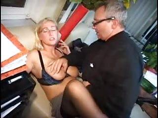 German blonde matture floppy tits