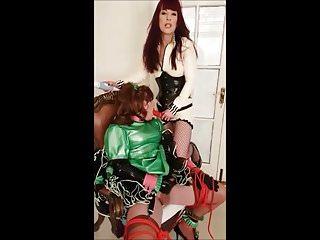 Cock sucking practice for Angelica