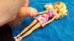 Barbie #1: Cum on Dress 1 - Video 142