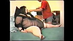 Ssbbw Betsy tube feeding
