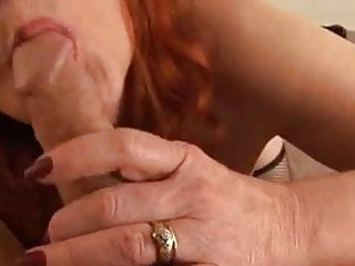 Mature Handjob Blowjob Cums Tits