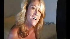 Mature Blonde 'fuck n facial'