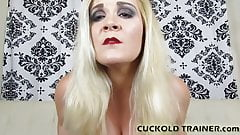 I will put you in your place you little cuckold slut's Thumb