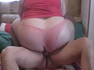 Hot Fuck  Bbw With A Big Round Fat Ass In The Bed