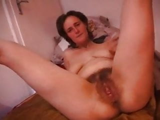 Hairy Milf With Hot Saggy Tits Fucked