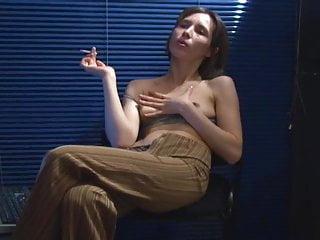 smoke and computer porn