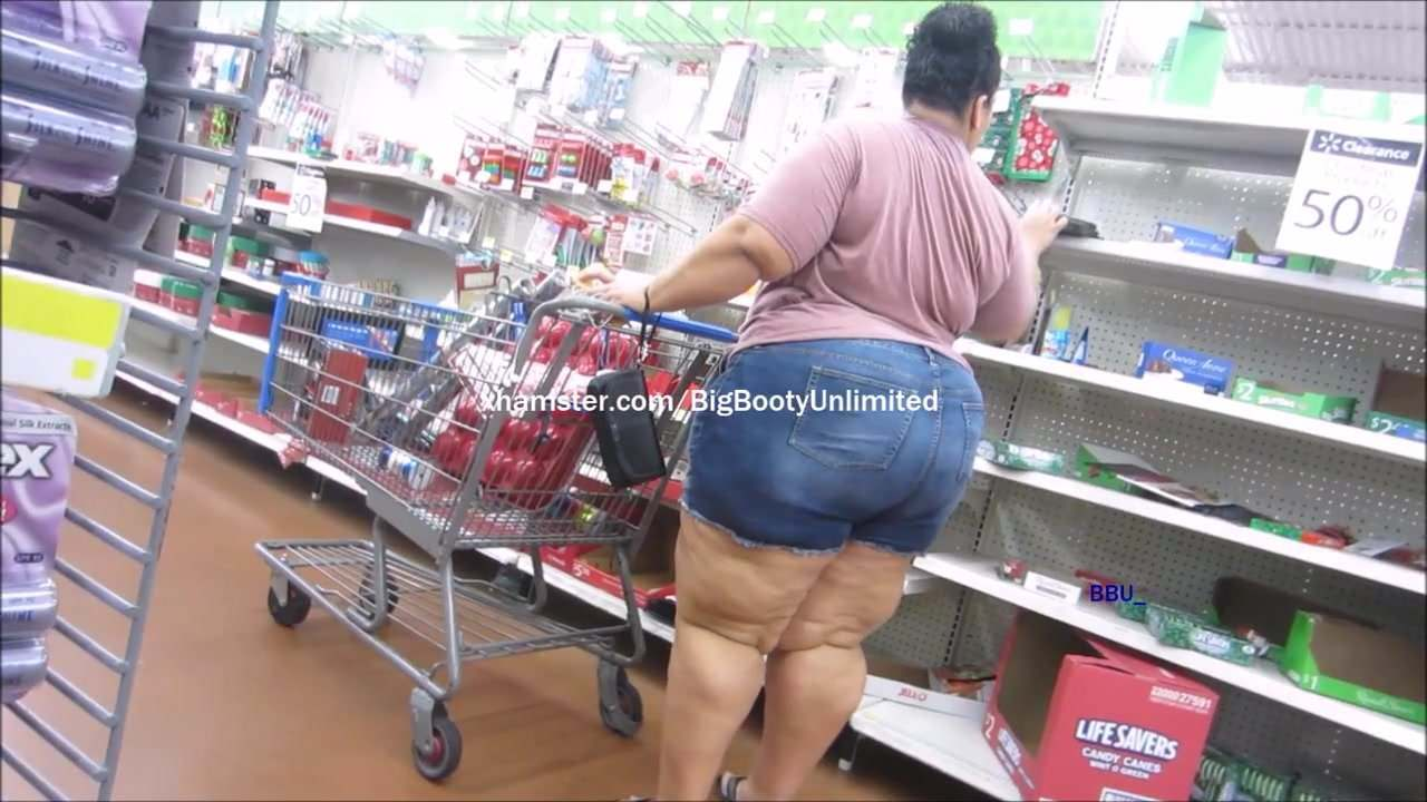 Fat bitch with booty shorts porn sorry