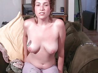 Orgasm for incredibly cute little curly hairy chick