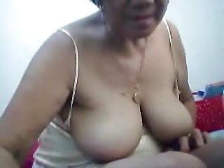 Filipino Granny  Pleasuring Me On Cam