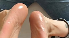 Amateur footjob 's Thumb