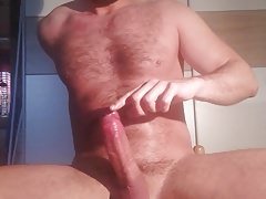 Jerking my dick 6