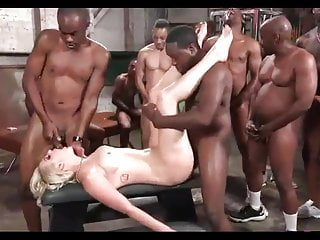 BLONDES WIFE PAIN ANAL HARD GANGBANG BLACK MANS