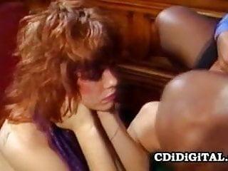 Dana Dylan and Angel Kelly: ThreeSome 80s Pornstar Sex