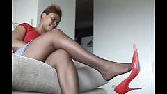 Favorite Ebony Nylons