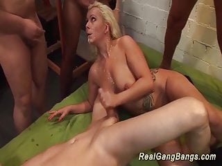 Preview 6 of extreme german gangbang swinger orgy