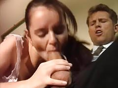 Brunette student analized
