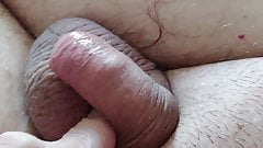 Small dick play to cum