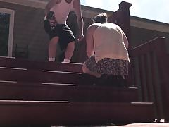 Upskirt decking.mp4