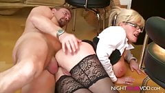 PASSION-HD Petite blonde injected with BIG DICK