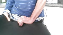 My Big White Cock Jerk Off In The Kitchen  Part I