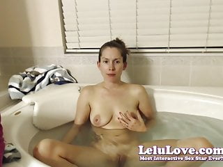Lelu Love-WEBCAM: New House Preview And Bath