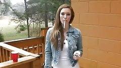 Sexy smoking