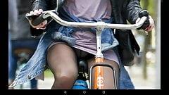 bicycle upskirt