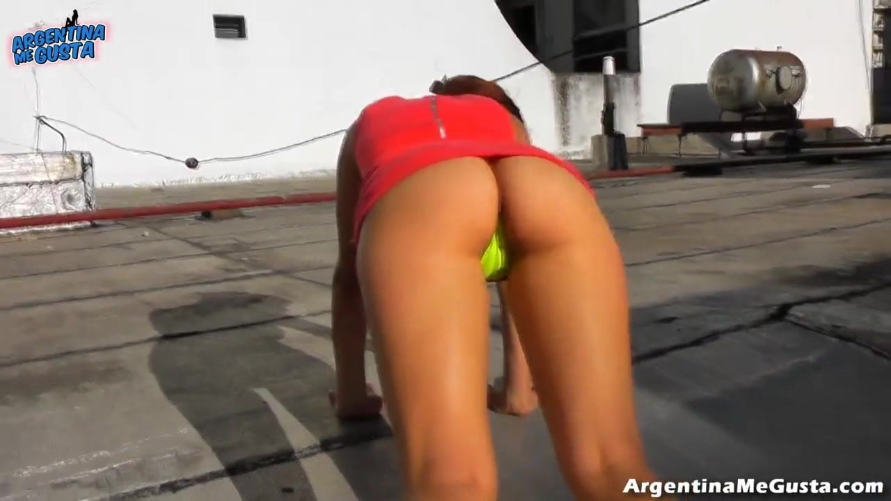 Extremely Hot Cameltoe And Ass In A Wicked Weasel