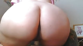 Blonde Chubby Teen big white ass Spanks