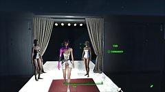 Fallout 4 Fashion Cyberpunk 2077