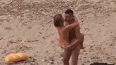 Teen couple beach sex 3 (Rough sex)