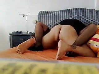 German mom takes a load on her big ass after getting fucked