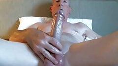 Big dicked dad wanking 035