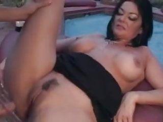 Trailer Trash MILF Fucking By The Pool