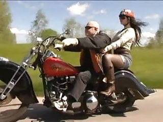 Biker girls sexual hand gestures illustrated - Old biker man fuck beautiful girl