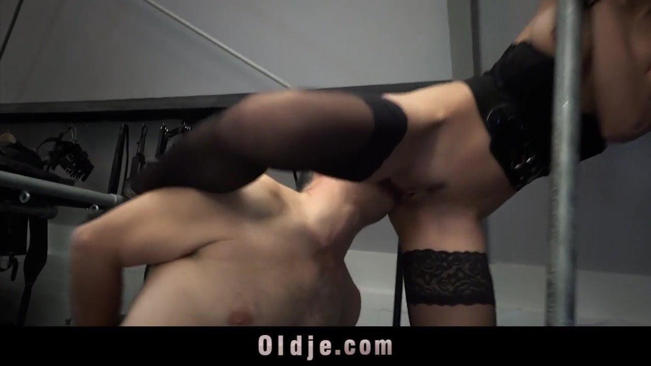 Woman Dominates Man Bondage